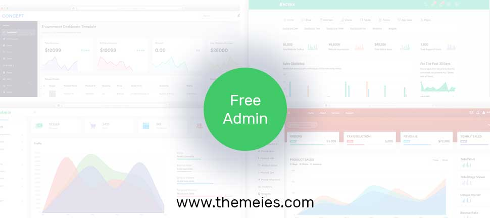 Best Free Admin Templates To Create Custom Dashboard