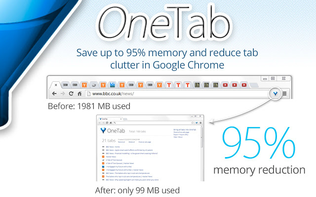 Chrome Extensions For Web Developers  OneTab