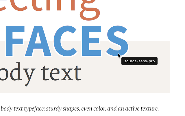 Chrome Extensions For Web Developers  What font