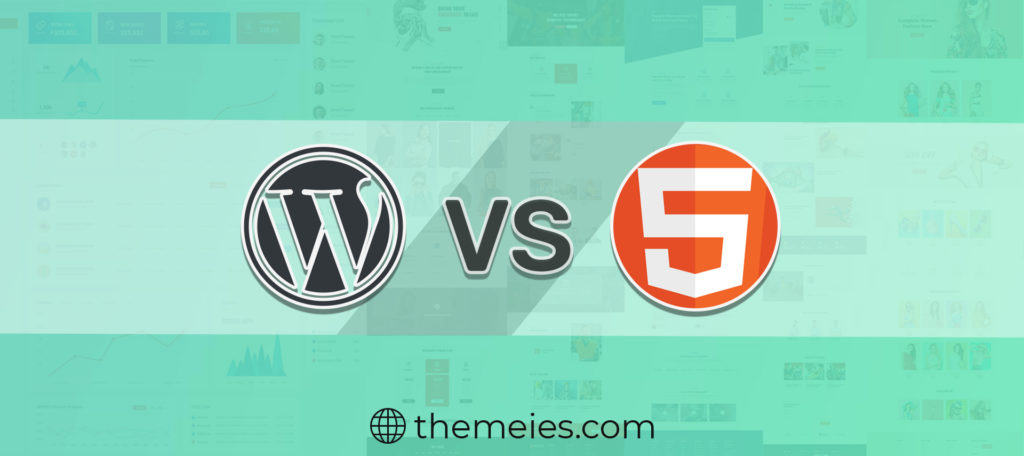 WordPress-Vs-HTML
