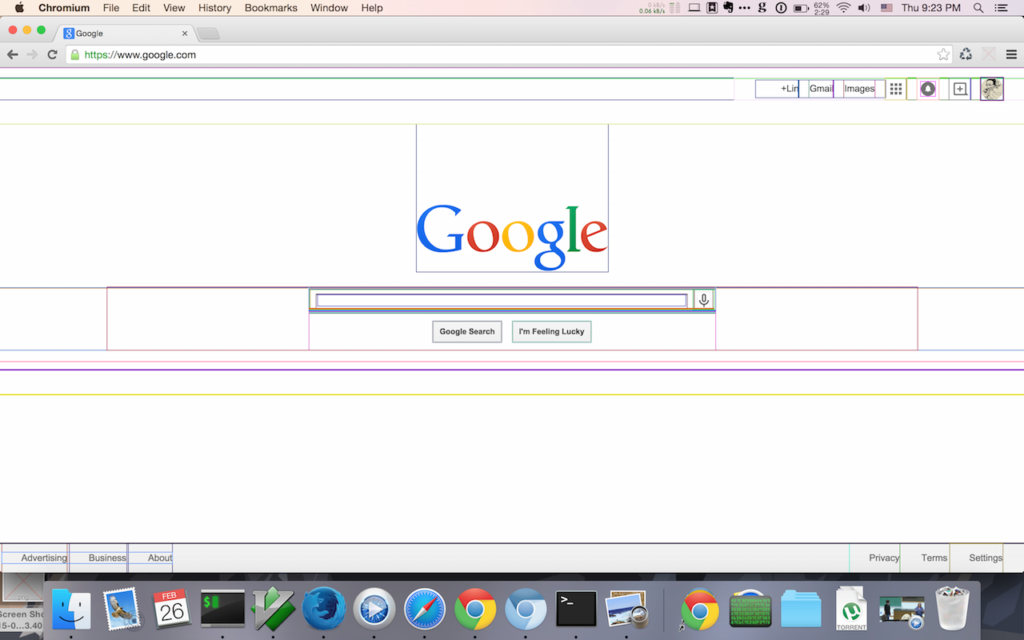 Chrome Extensions For Web Developers Wireframe