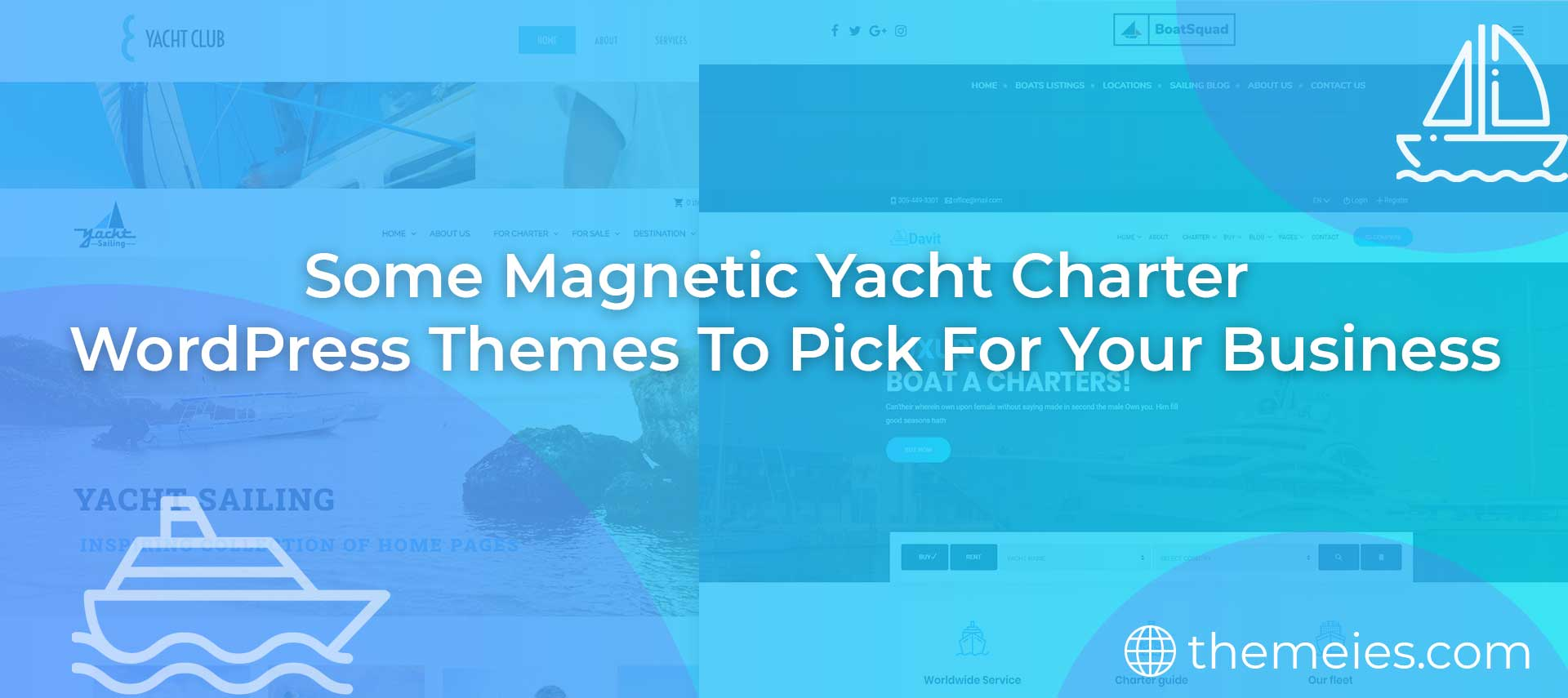 yacht charter WordPress themes