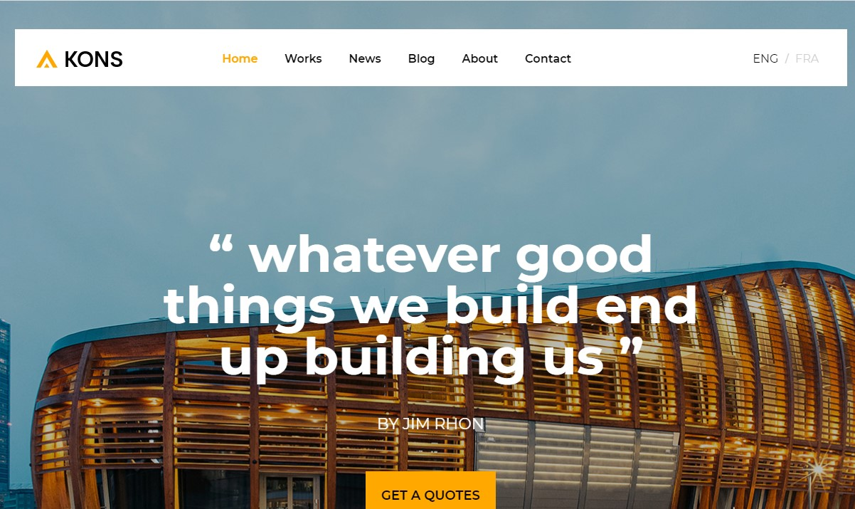 Kons- Construction and Building Template