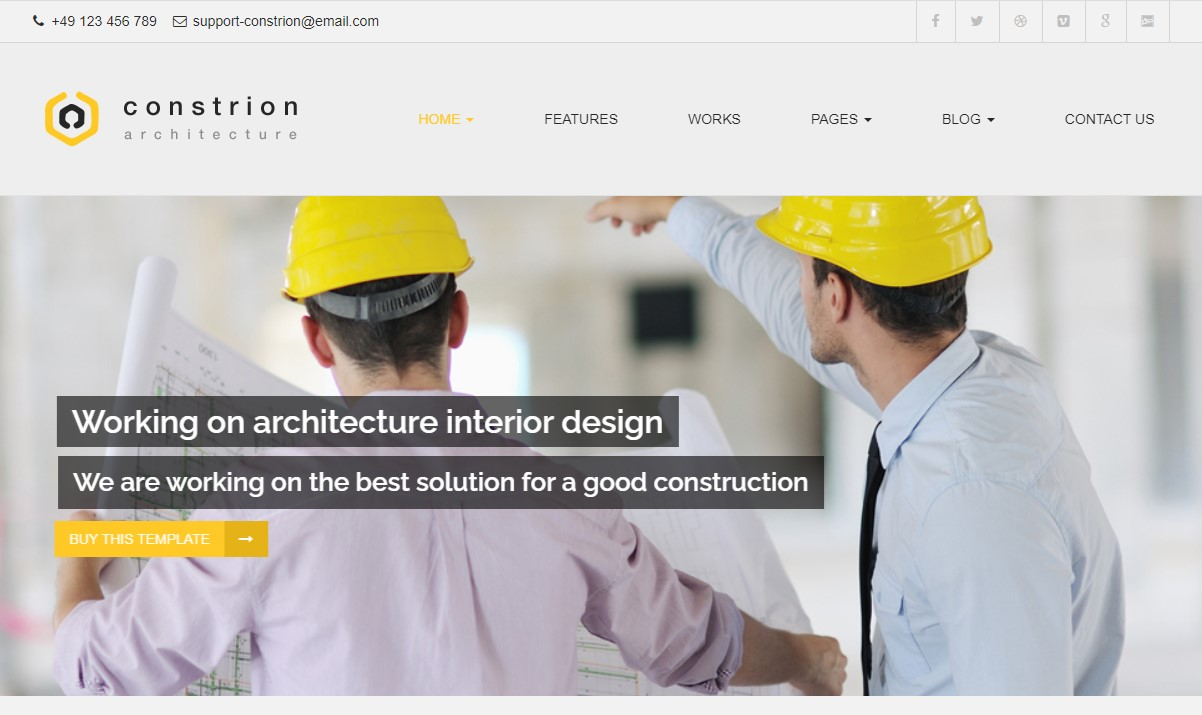 Constrion- Construction and Builder HTML Template